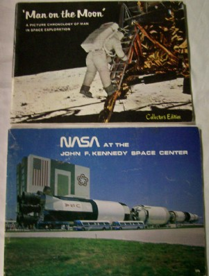 1960s-70s NASA & Kennedy Space Center Souvenir Books