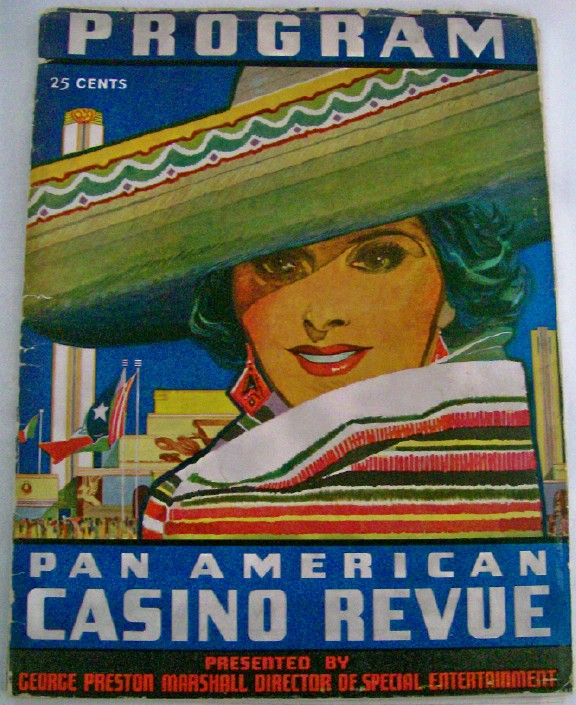 1937 Pan American Exposition Casino Revue Program