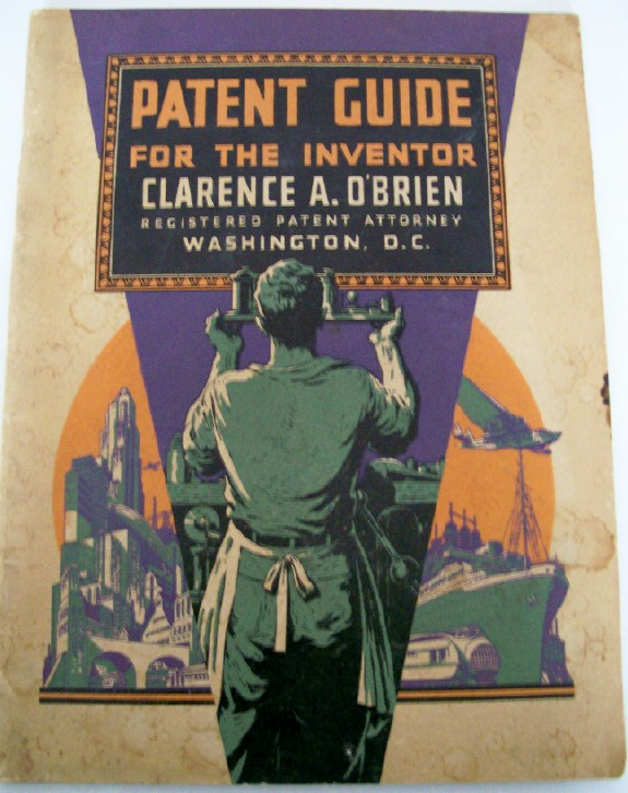 1934 Inventor's Patent Guide - How To Acquire A Patent