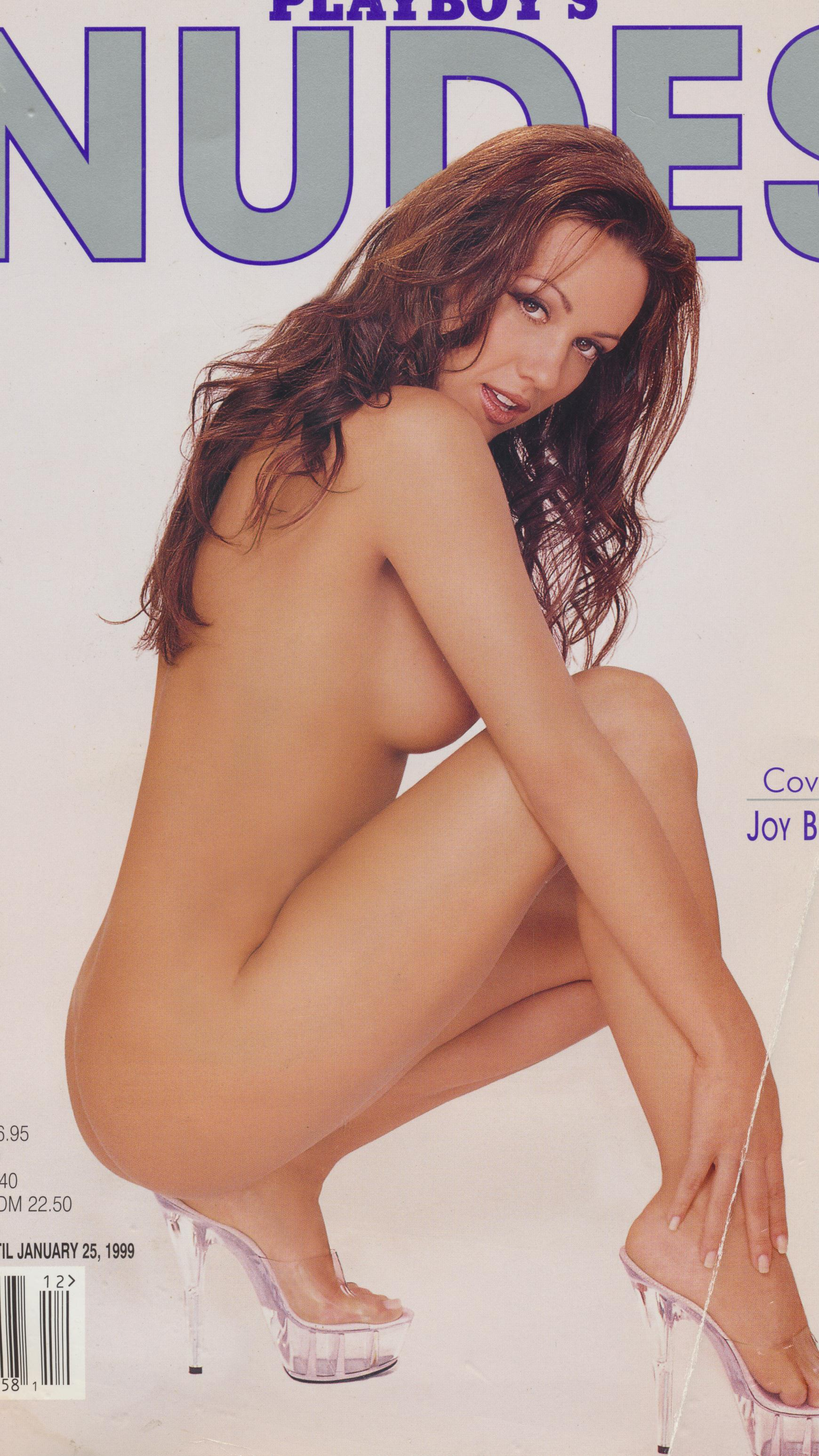 Playboy's Nudes Magazine Dec.1998 Joy Behrman Cover