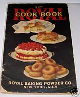 1920 Royal Baking Powder Advertising Recipe Cook Book