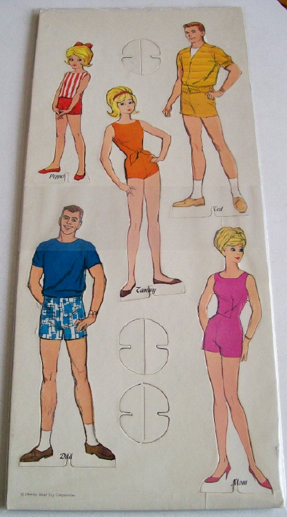 1964 Tammy Paper Doll Set By Ideal Toy Corp - Uncut