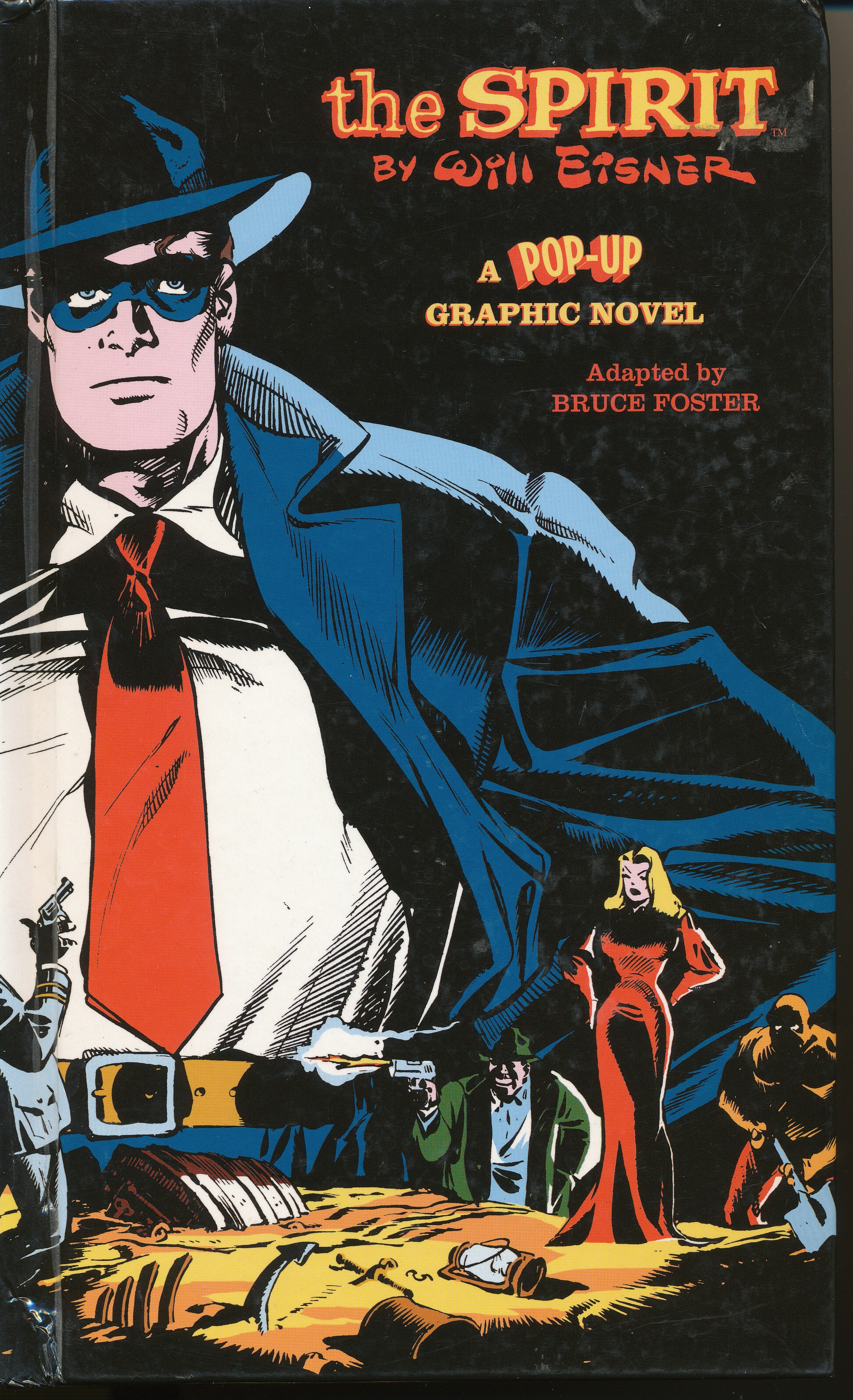 the Spirit by Will Eisner-A Pop-up Graphic Novel