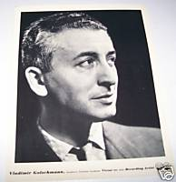 Vladimir Golschmann 1930s Original RCA Promo Photo