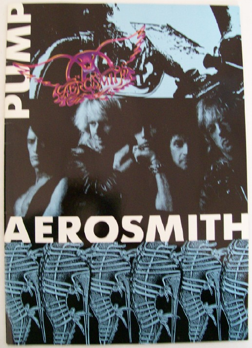 1989 Aerosmith Tour Book - Great Frameable Photos