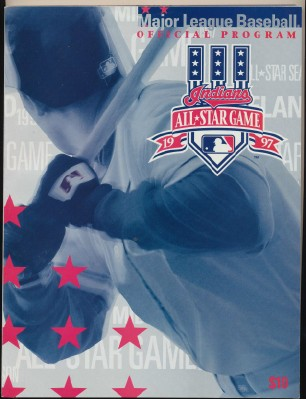 1997 Cleveland Indians All Star Game Program