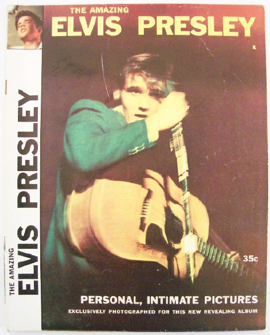 Vintage 1956 Amazing Elvis Presley Photo Biography