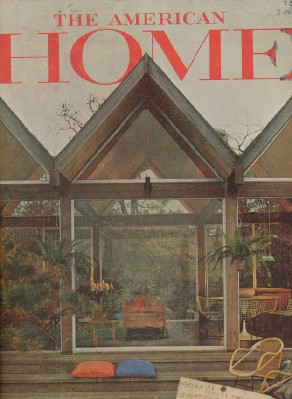 April 1964 The American Home - Decorating Gardening Cooking