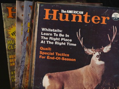 Vintage 1981 American Hunter Magazine Lot Of 9