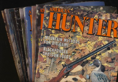 Vintage American Hunter Magazines - 1983-84 - Lot Of 11