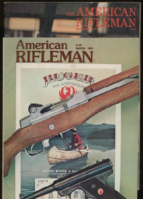 Lot Of 1970s American Rifleman NRA Magazines