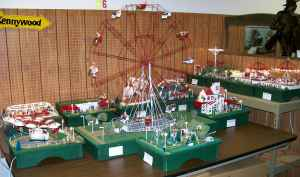 Kennywood Amusement Park Animated Layout 1 Of A Kind Reduced