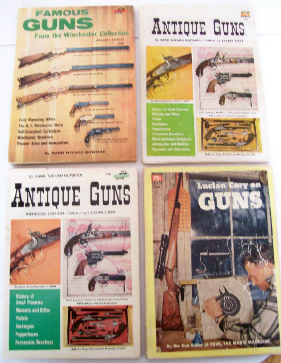 50s-60s History Of Antique Gun Mags - Lucian Cary & Hank Bowman
