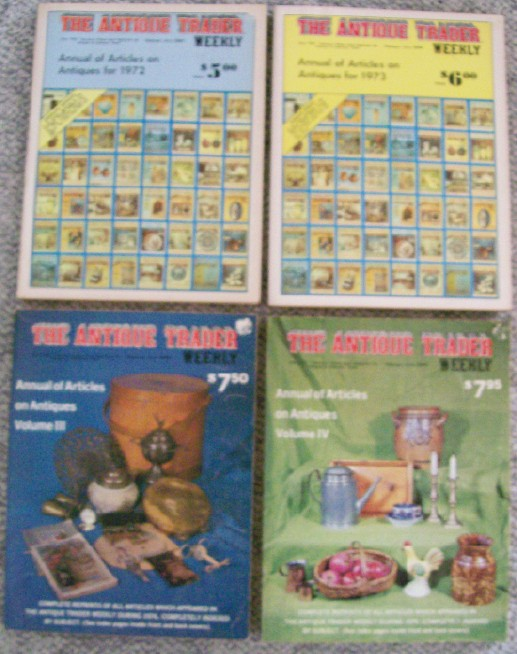 Antique Trader Weekly Annual - 1st 4 Issues - 1972-1975