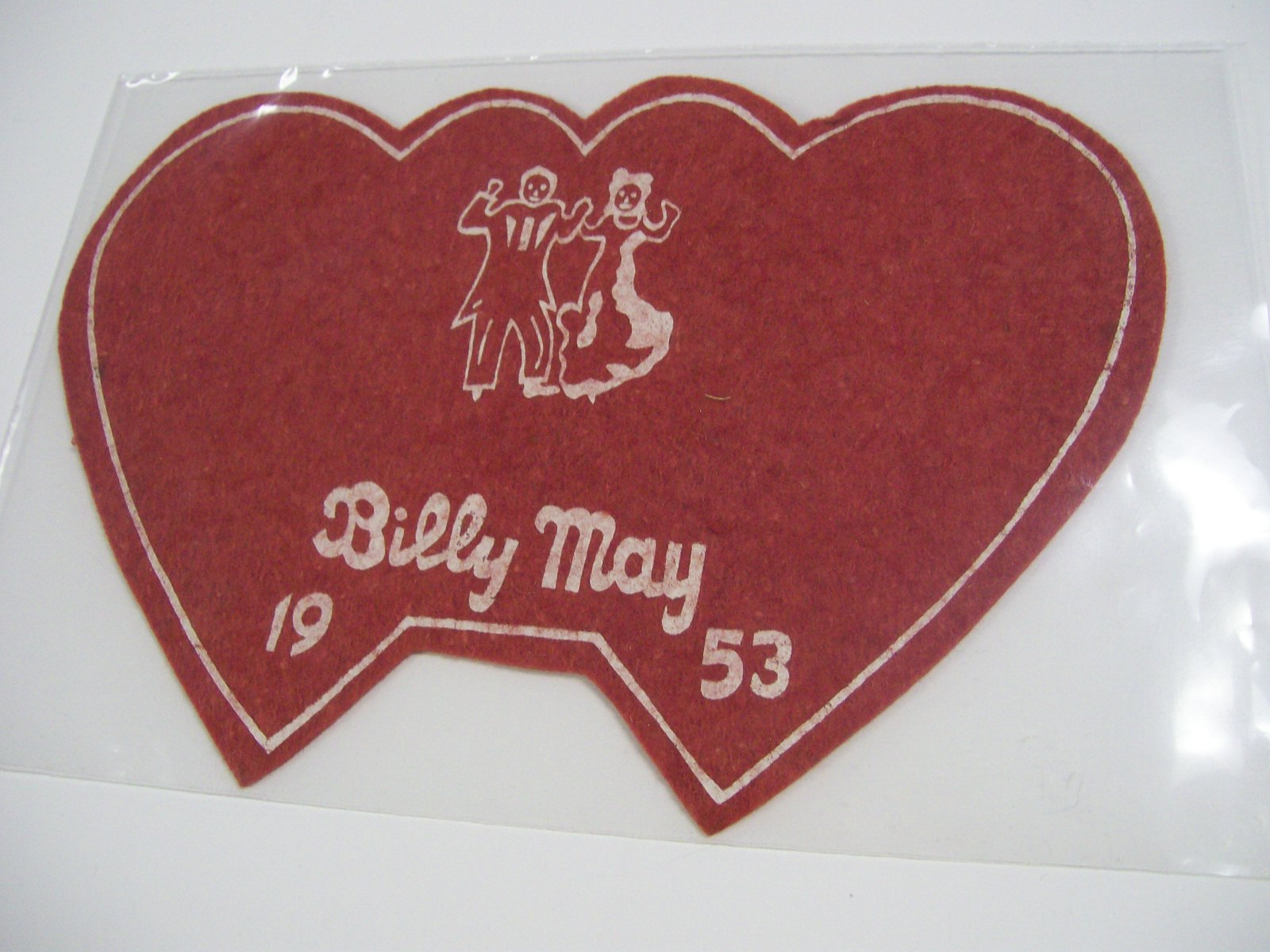 Billy May 1953 Double Heart Big Band Era Couple Dancing