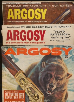 1950s-1960s Argosy Man's Magazine Lot