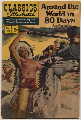 Classics Illustrated #69 Jules Verne Around The World In 80 Day