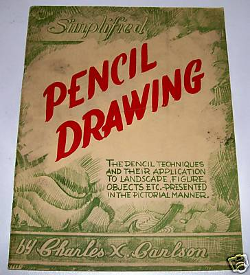 1943 Pencil Drawing How-To Book With Nudes & Black Mammy +++