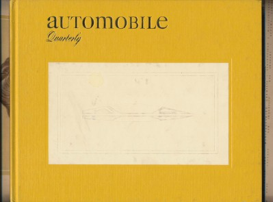Automobile Quarterly 1971 Summer Volume IX Number 4