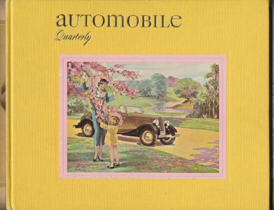 Automobile Quarterly 1974 3rd Quarter Volume XII Number 3