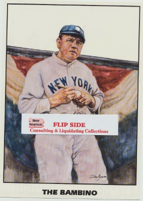Babe Ruth Portrait By Dino Gusimo