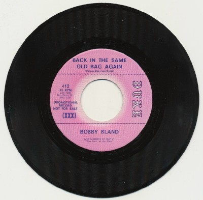 Back in The Same Old Bag Again/ Bobby Bland