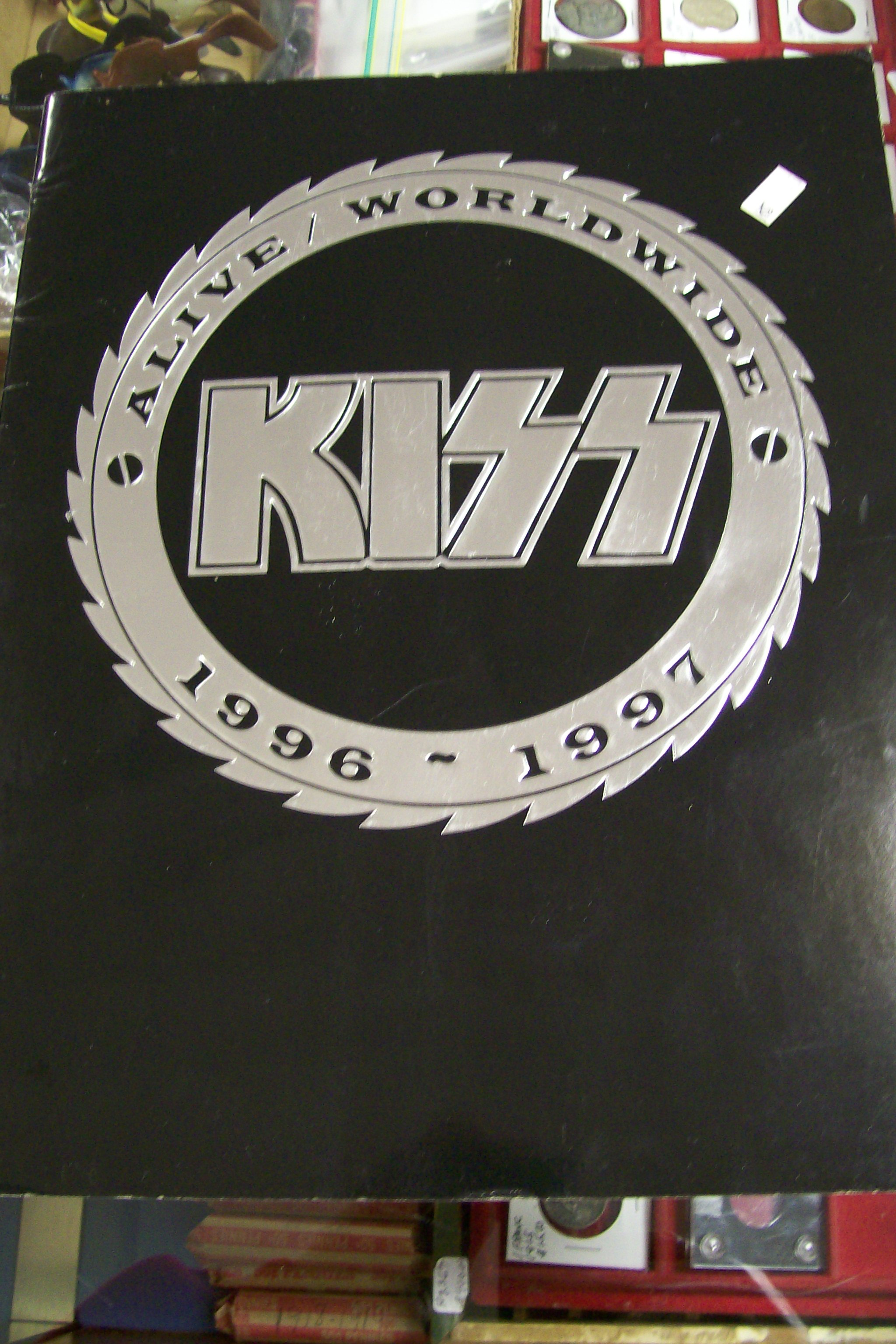 Kiss Alive Worldwide Tour Program 1996-1997