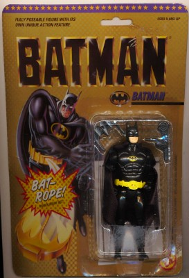 1989 Batman Poseable Action Figure - New On Unopened Card