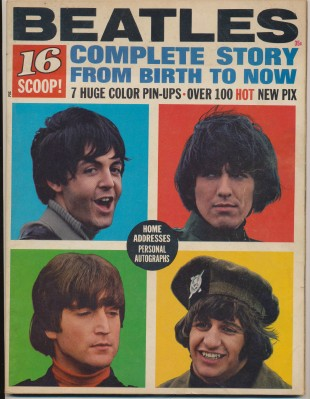 1965 16 Magazine Special Edition - Beatles Complete Story
