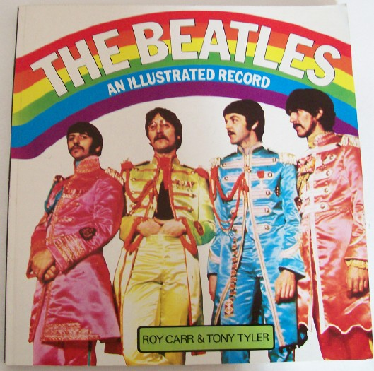 1976 Beatles An Illustrated Record - Photo HIstory Book