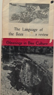 1942 Beekeeping Bee Keeper Apiarist Magazine + Bee Language