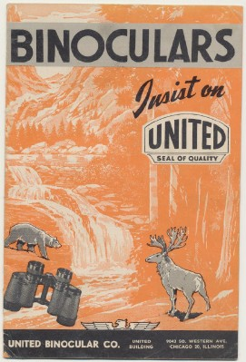 1967 United Binoculars Dealer Trade Catalog