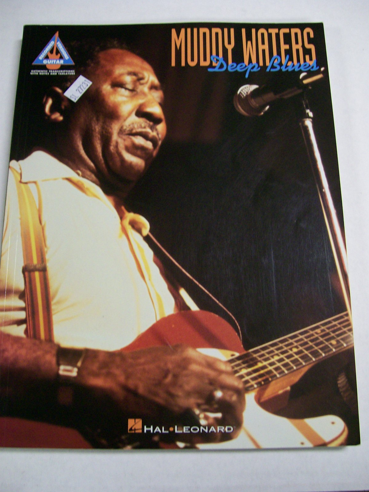 Muddy Waters Deep Blues 1995 Hal Leonard Corporation