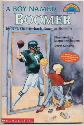 NFL Quarterback Boomer Esiason Autobiography For Children-Signed