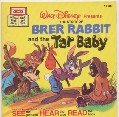 Walt Disney's Brer Rabbit & The Tar Baby Children's Book