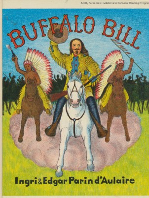 1952 Buffalo Bill Children's Book By Parin d'Aulaire