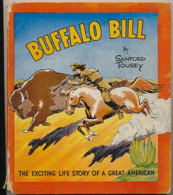 1938 Buffalo Bill Biography Children's Book
