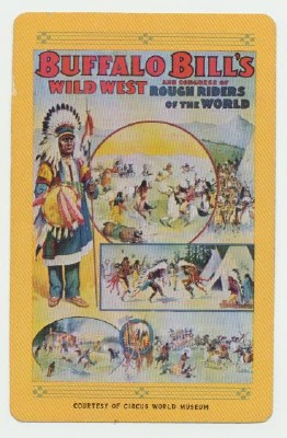 Buffalo Bill Wild West Poster Deck Of Playing Cards