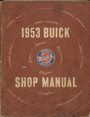 1953 Buick Shop Manual