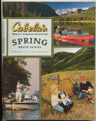 2009 Cabela's Outfitter Spring Master Catalog