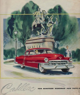 Vintage 1951 Cadillac Showroom Sales Literature