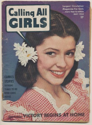 May 1944 Calling All Girls Teen Magazine - Vol 4 No 29