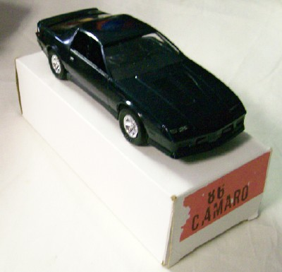 1986 Chevrolet Camaro Promo Car - Mint In Original Box