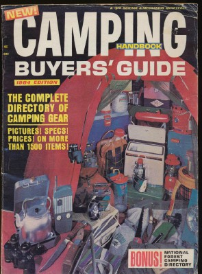 1964 Camping Handbook Buyers' Guide