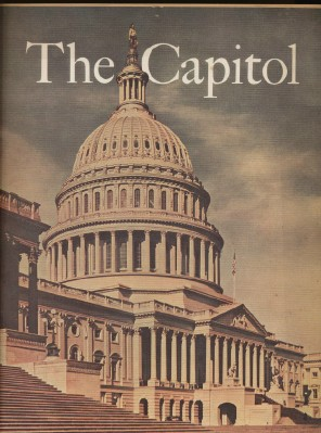 50s Pictorial Story Of The US Capitol & House Of Representatives