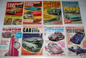 Vintage Hot Rod & Custom Car Magazine Lot