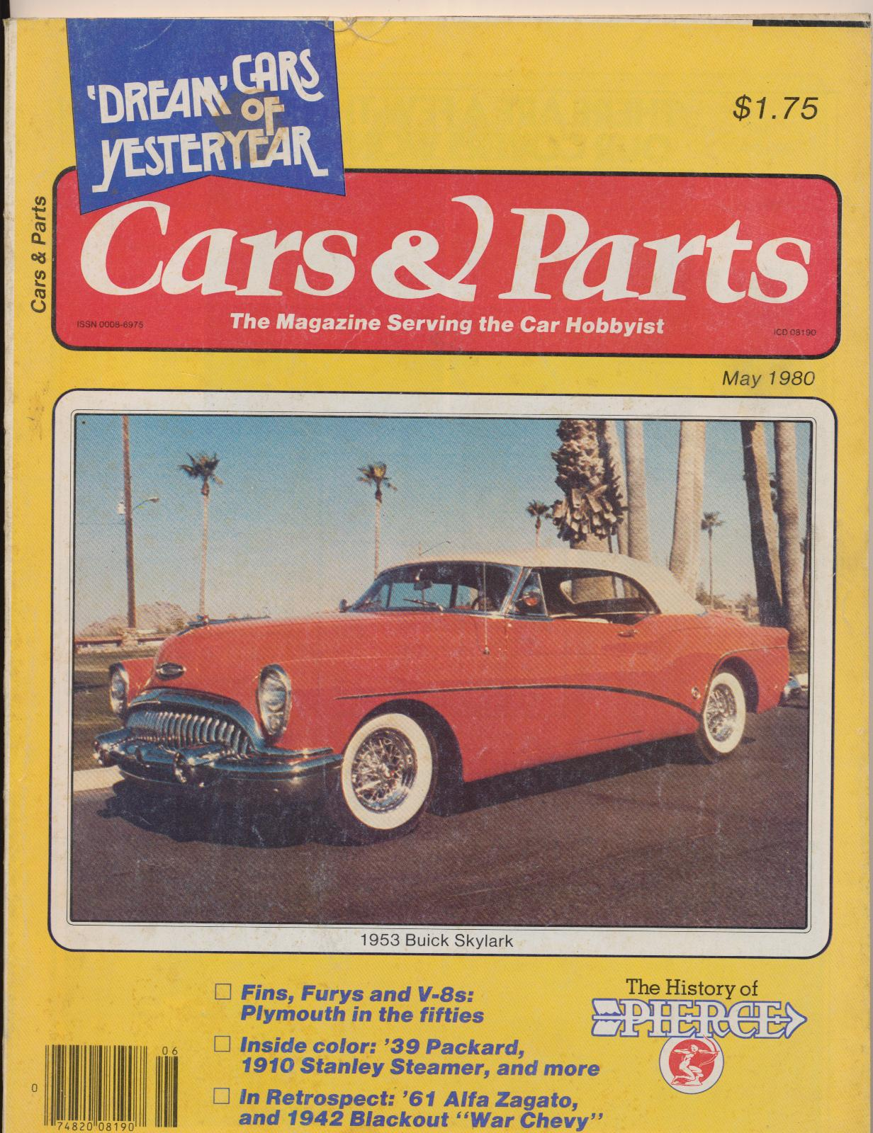 May 1980 Cars & Parts - Dream Experimental Cars - 50s Styling