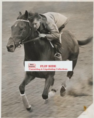 Vintage Photo Of Challendon Preakness Winner & Hall Of Fame