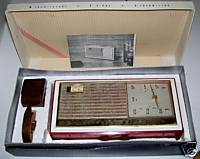 Channel Master Super Fringe Transistor Radio Boxed Set