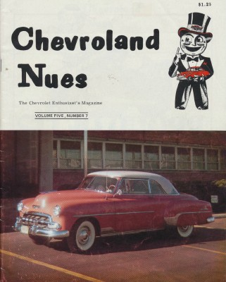 April 1981 Chevroland Nues - 1952 Belair Hardtop Cover Story